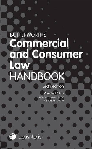 9781405755894: Butterworths Commercial and Consumer Law Handbook.