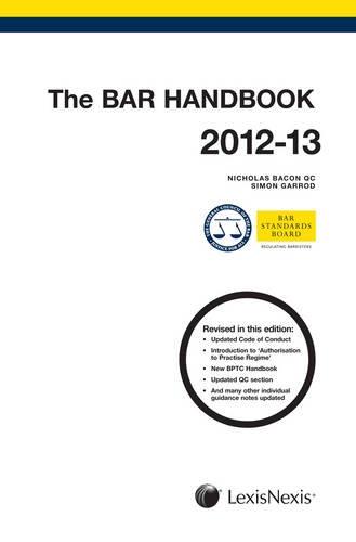 The Bar Handbook: Bacon, Nicholas; Garrod, Simon
