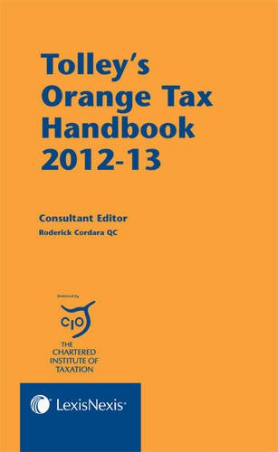 9781405770156: Tolley's Orange Tax Handbook