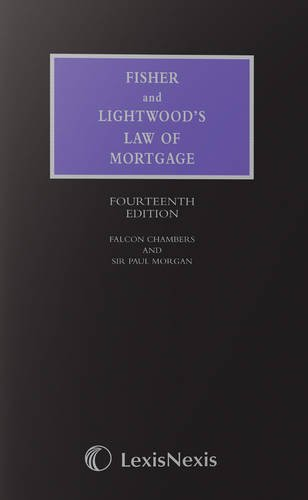 Fisher and Lightwood's Law of Mortgage: Clark, Wayne, Morgan, Justice