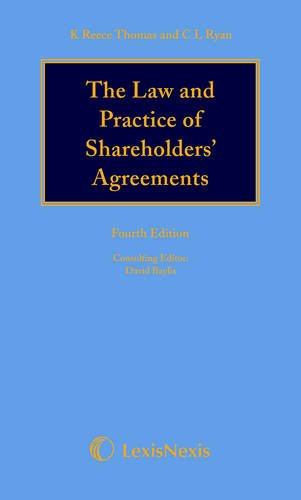 9781405790499: Reece Thomas & Ryan: The Law and Practice of Shareholders' Agreements