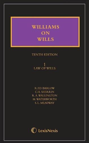 9781405790512: Williams on Wills