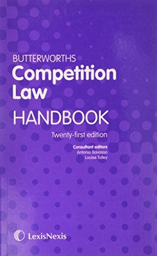 9781405794947: Butterworths Competition Law Handbook