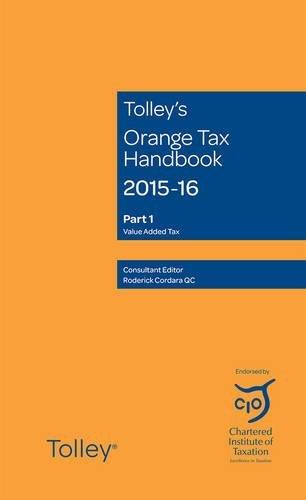 Tolley's Orange Tax Handbook 2015-16