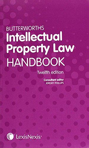 9781405799225: Butterworths Intellectual Property Law Handbook