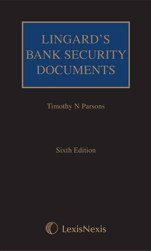 9781405799393: Lingard's Bank Security Documents