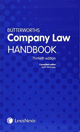 9781405799935: Butterworths Company Law Handbook
