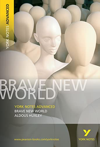 9781405801713: Brave New World: York Notes Advanced: Aldous Huxley