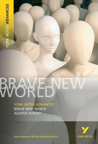 YNA Brave New World (York Notes Advanced) (1405801719) by Aldous Huxley