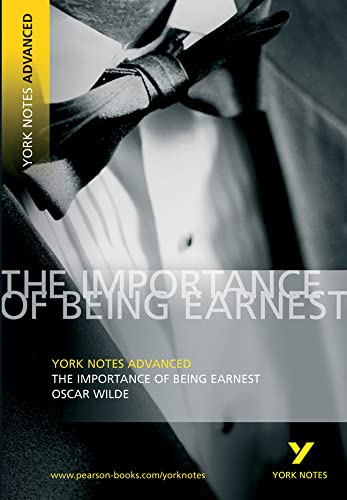 9781405801737: The Importance of Being Earnest: York Notes Advanced