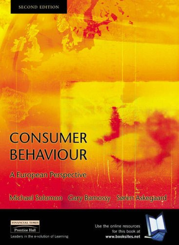9781405807296: Consumer Behaviour: AND Critical Thinking in Consumer Behaviour - Cases and Experiential Exercises: A European Perspective
