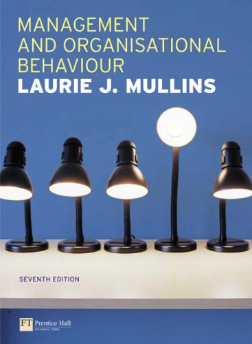 9781405807586: Management and Organisational Behaviour