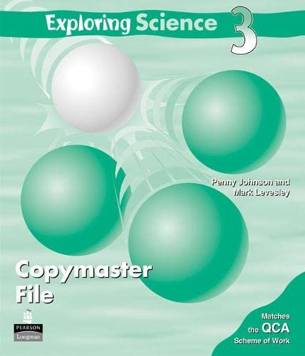 Exploring Science Copymaster File 3: Penny Johnson, Mark