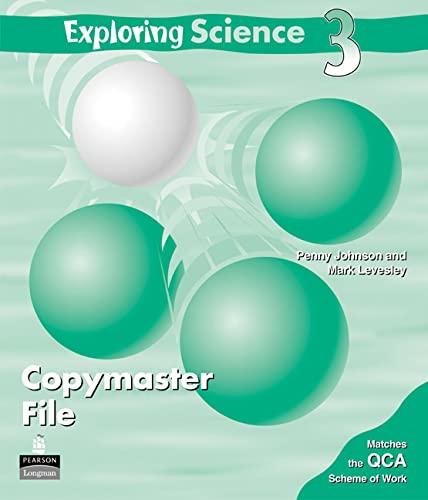 9781405808910: Exploring Science: Copymaster File Level 3 (Exploring Science)