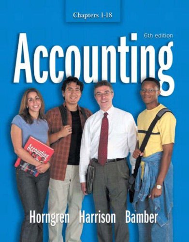 9781405810029: Accounting: Chapters 1-18