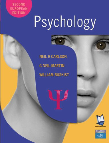 psychology the science of behavior neil r carlson pdf