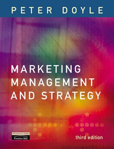 9781405810739: Marketing Management and Strategy: AND Marketing in Practice Case Studies DVD v.1 (Vol 1)