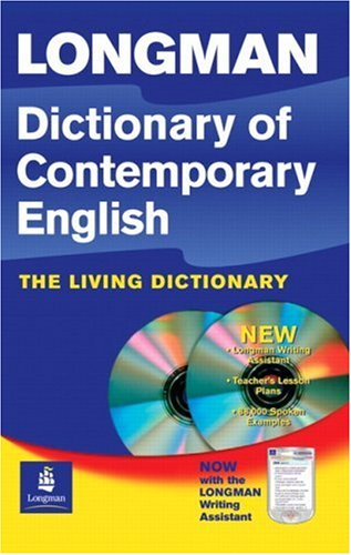 Longman Dictionary of Contemporary English with CD-ROM: Pearson ESL