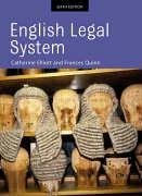 9781405811651: English Legal System