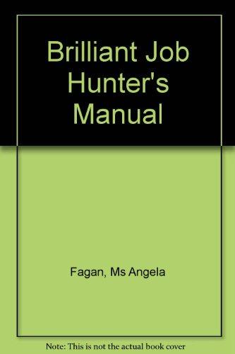 9781405811903: Brilliant Job Hunter's Manual