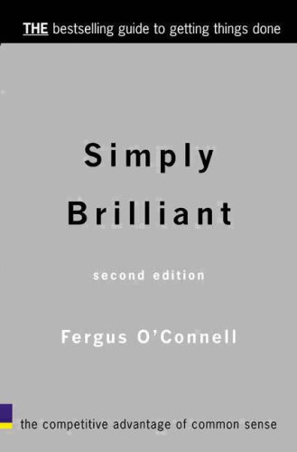 Simply Brilliant (140581196X) by Fergus O'Connell