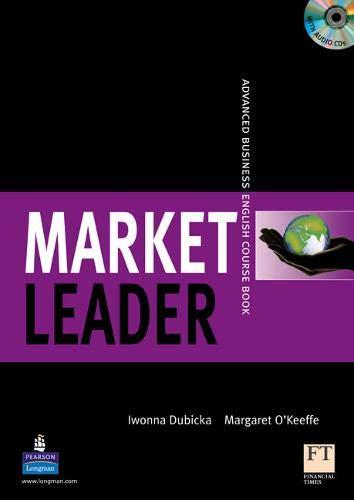9781405812771: Market Leader: Advanced Coursebook for Pack