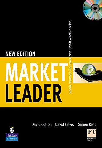 9781405812795: Market Leader Elementary Course Book for pack New Edition