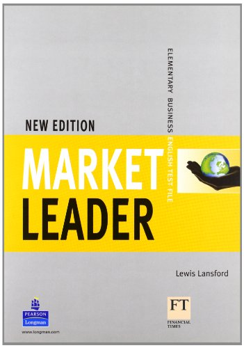 9781405812894: Market Leader Elementary Test File New Edition