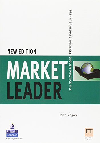 9781405813044: Market Leader NEW Pre-Intermediate business english practice file: Pre-intermediate Practice File NE