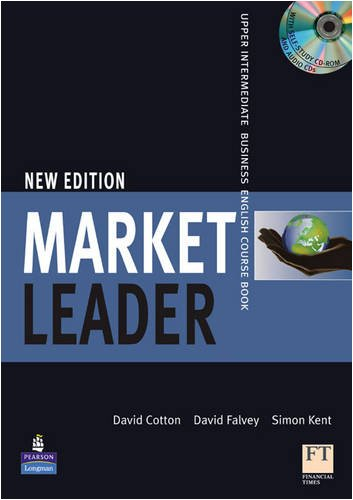 Market Leader Upper Intermediate Business English Course Book (1405813091) by David Cotton
