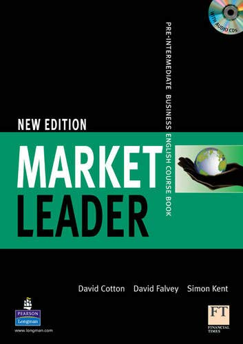 9781405813372: Market Leader Level 2, 1st Ed: Pre-Intermediate Business English Course Book with CD-ROM