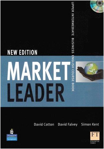 9781405813389: Market Leader Upper Intermediate Coursebook and Class CD Pack NE