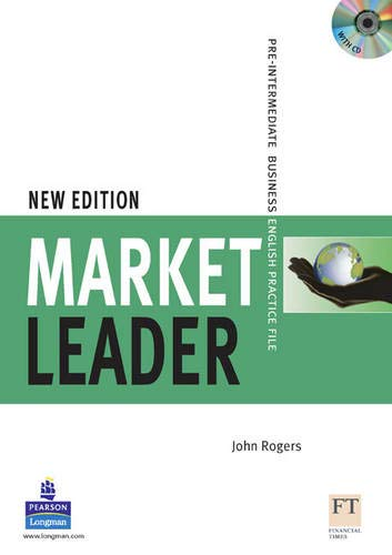 9781405813419: Market Leader. Pre-Intermediate Business English Practice File - New Edition