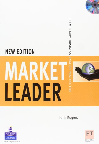 9781405813426: Market Leader 1 New Edition: Elementary Business, Practice File Pack (Book and Audio CD)