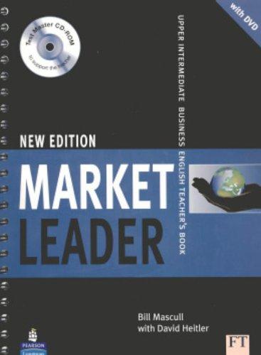 9781405813457: Market Leader Upper Intermediate Teacher s Book DVD Pack Market Leader