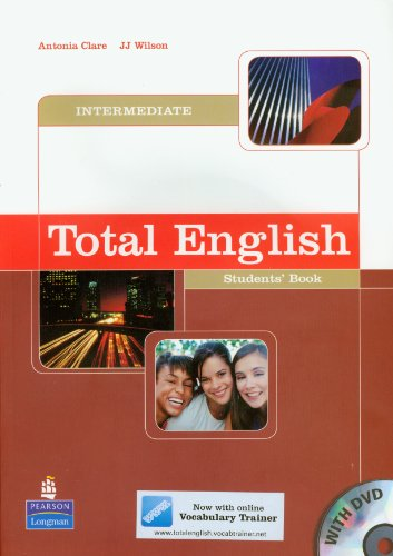 9781405815635: Total english. Intermediate. Student's book. Per le Scuole superiori. Con DVD-ROM: Student's Book and DVD Pack