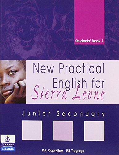 9781405816892: New Practical English for Sierra Leone JSS Students Book 1: Junior Secondary Students' Book 1