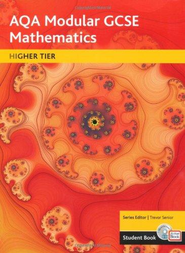 AQA GCSE Maths 2006: Modular Higher Student: Trevor Senior, Tony