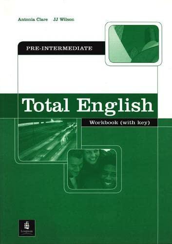 9781405819916: Total English Pre-Intermediate Workbook with Key (Total English)
