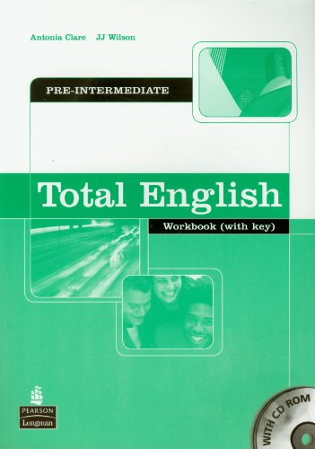Total English Pre-Intermediate: Workbook and CD-Rom Pack: Antonia Clare, J
