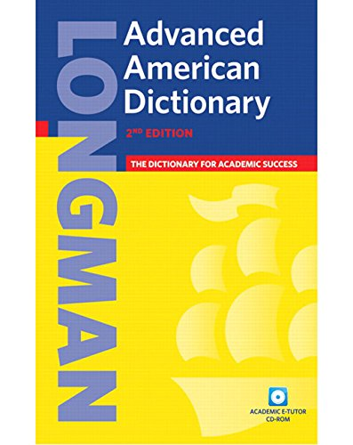 9781405820295: Longman Advanced American Dictionary (paperback), without CD-ROM (2nd Edition)