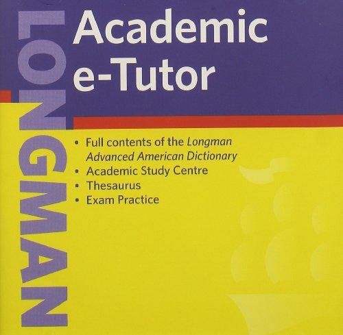 9781405820325: Longman Academic e-Tutor CD-ROM