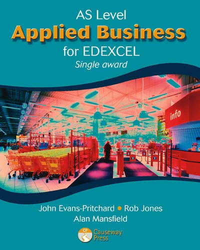 9781405821148: AS Applied Business for Edexcel (Single Award) (Applied Business for Edexcel)
