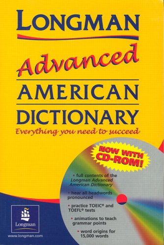9781405822374: Longman Advanced American Dictionary (hardcover) with CD-ROM