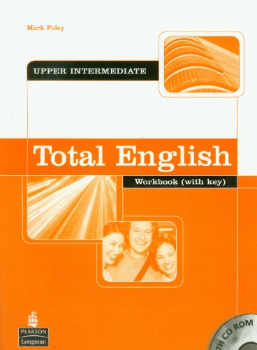 9781405822589: Total English Workbook Self Study Pack Key CD ROM Total English