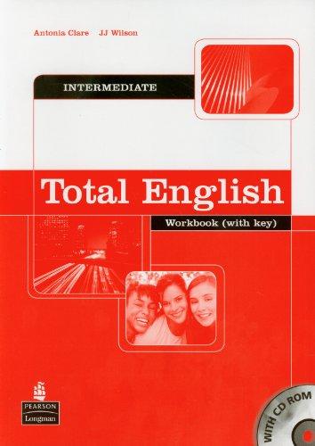 9781405822602: TOTAL ENGLISH INTERMEDIATE WORKBOOK-WITH KEY (INCLUYE 1CD-ROM)