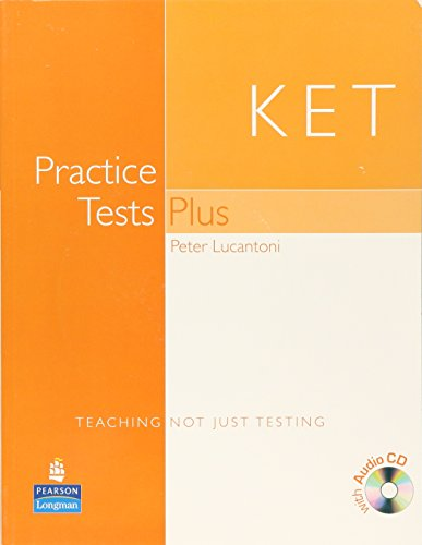 9781405822848: Practice Tests Plus KET Students Book and Audio CD Pack