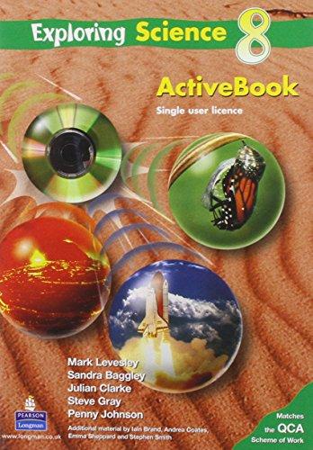 9781405823074: Exploring Science Pupils ActiveBook(homework version) Yr 8: Pupils Activebook (Homework Version) Year 8