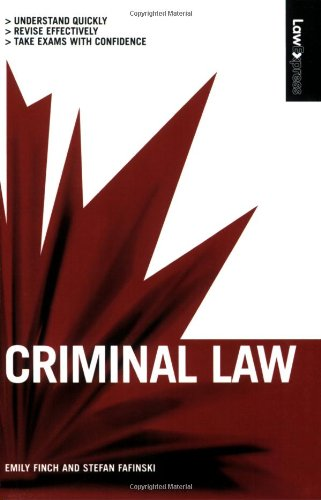 Criminal Law (Law Express): Finch, Emily