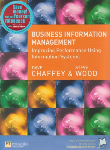 9781405823739: Business Information Management: AND Course Compass Pin Card: Improving Performance Using Information Systems